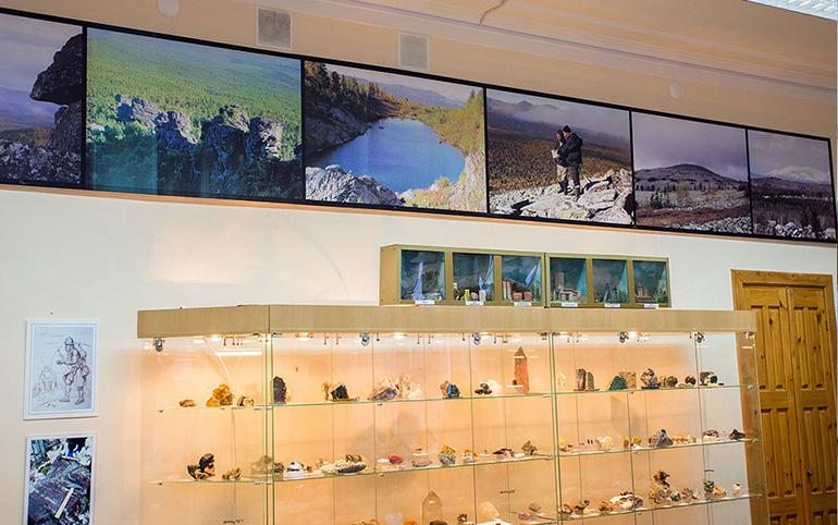Интерьер Музея камня
