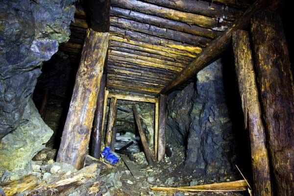 Крепи выработок на сопряжении. Воскресенский рудник