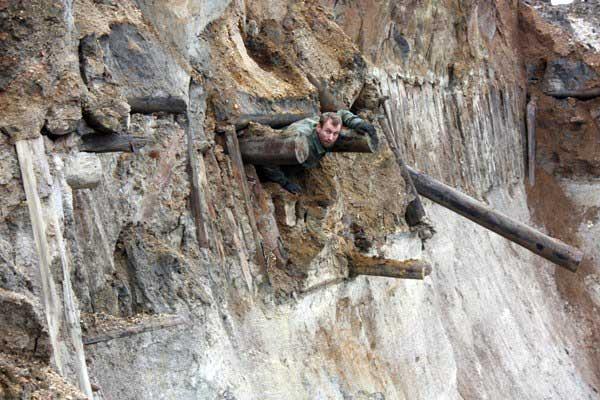 Выработки рудника