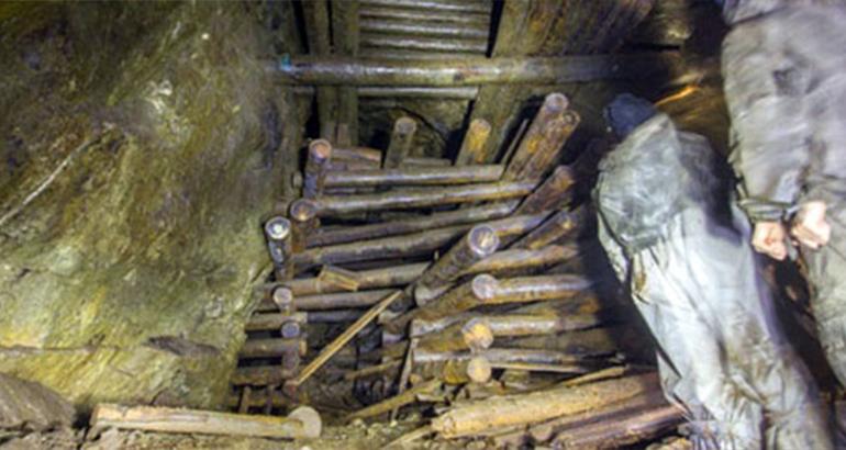 Старинный рудник Максима Походяшина