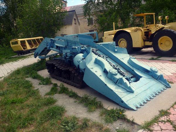 Экспонат Музея горной техники