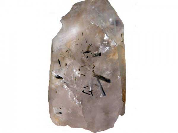 Эпидот в кварце. Южный отрог г. Золотой камень, Североуральск