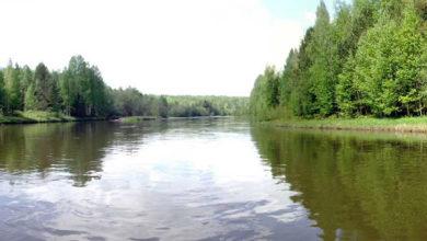 Вагран - главная река города Североуральска
