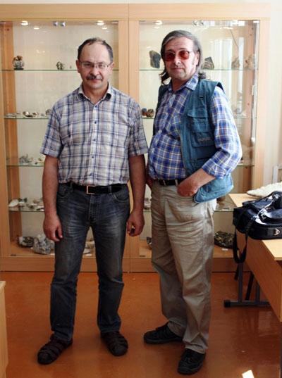 Наши гости. Равиль Уразов (слева)