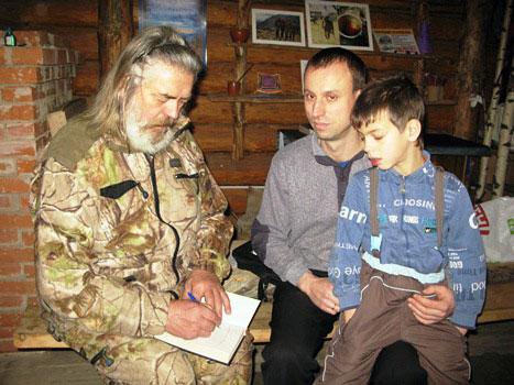 В гостях у Сергея Алексеева