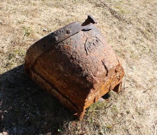 Дражный ковш, найден на реке Сосьва. Начало ХХ века.