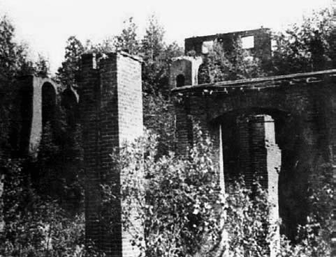 Развалины взорванного Кутимского завода. До революции 1917г.