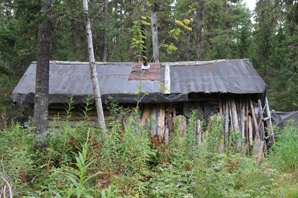 Охотничья избушка, Урал