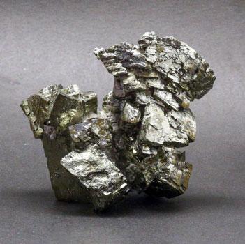 Пирит веерный кристалл (Петропавловский карьер)